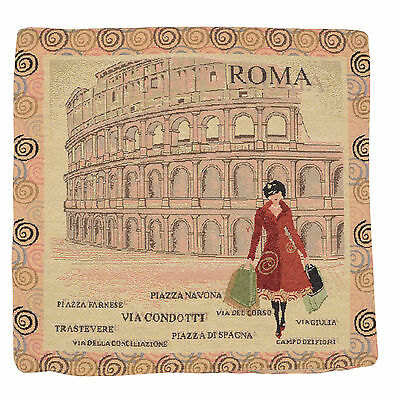 "Wholesale Job Lot 10x Cushion Covers Designer ""Rome"" Tapestry 18"" (45cm) New"