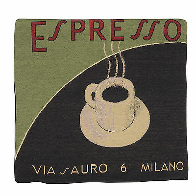 "Wholesale Job Lot 10x Cushion Covers Designer ""Espresso Green"" Tapestry 18"" 45cm"