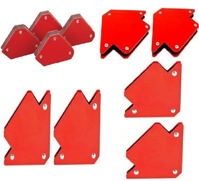 "10pc Welding Arrow Magnets Mini 3"" 4"" 5"" Magnetic Holding  Holder Arc MIG TIG"