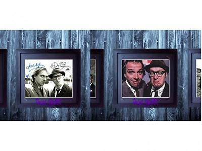 Bottom Rik Mayall (Set 1-2) SIGNED AUTOGRAPHED FRAMED 10X8 REPRO PHOTO PRINT