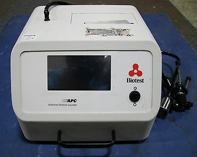 (1) Used Biotest APC Portable P3610 Airborne Particle Counter