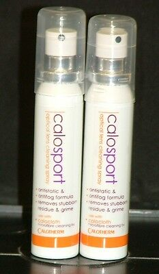 2 x Calosport Anti-fog/antistatic lens cleaner 25ml RRP £5.00 each