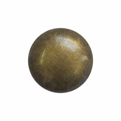 Antique Bronze Smooth Domed Plastic Buttons