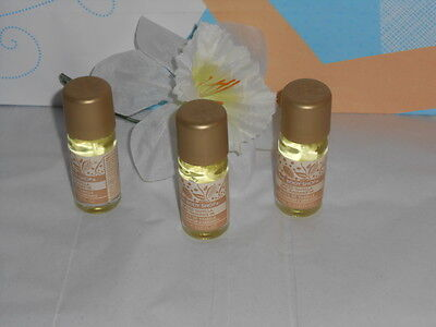 The Body Shop Spiced Vanilla Home Fragrance Oil X 3 DISCONTINUED