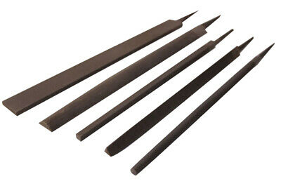 "Industrial Steel Files Medium/Second Cut Flat/Round/HR/Triangle/Square:8""-14"""