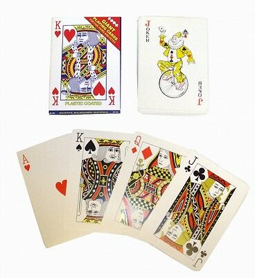 Giant Playing Cards - Brand New Large Pack 17 x 12cm