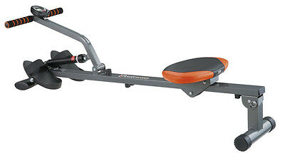 Smooth Hydraulic Glider Rowing Machine | Home Fitness Workout Exercise Rower