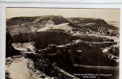 (Ly137-388) Real Photo of Drummond Valley, NATAL, c1930 Unused EX