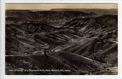 (Ly244-388) RP, Valley of Thousand Hills, Bothas Hill, Natal, Unused c1910 VG