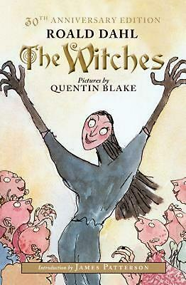 The Witches by Roald Dahl Hardcover Book (English)
