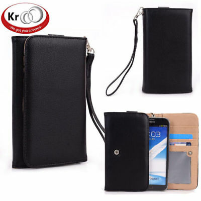 Kroo Clutch Wristlet Wallet for Smartphone up to 5.7 Inch