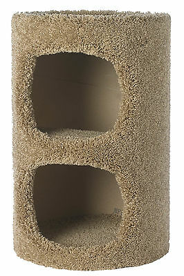 """Flexrake 13"""" D x 19"""" H 2 Story US Cats™ Condo Assorted Colors and Textu"""