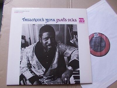THELONIOUS MONK,PLAYS DUKE lp m-/m- ELECTRONICALLY RECHANNELED FOR STEREO 673014
