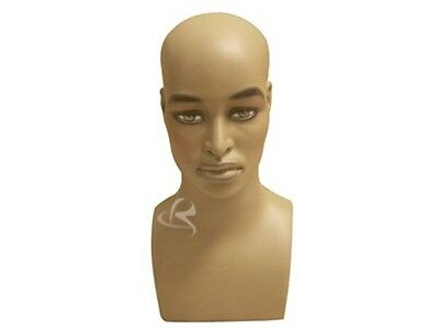 Mannequin Head Bust Wig Hat Jewelry Display Male MD-MB2