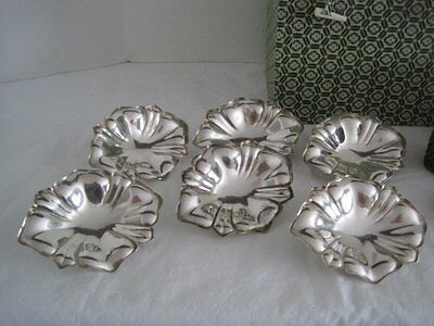 Walker & Hall Condiments Plates w/Clips and Napkin Rings with Box