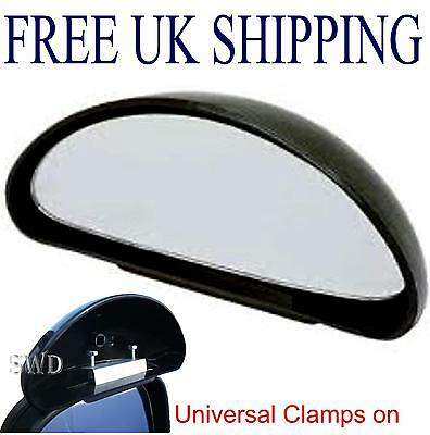 Universal Blind Spot Mirror, Wide Angle, Better Parking with Caravans NEW