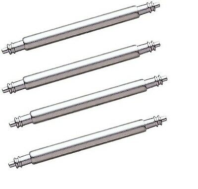 Stainless Steel Watch Spring Bar Pins 1.5mm Bars 10mm - 24mm