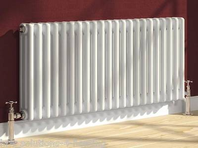 Colona Column Radiator  2 3 or 4 Column Rads White Traditional Cast Iron Style