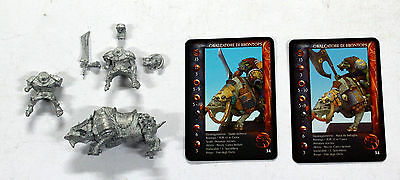 Confrontation Rackham Brontops Orc Rider With Sword Orco Cavalcatore Con Spada
