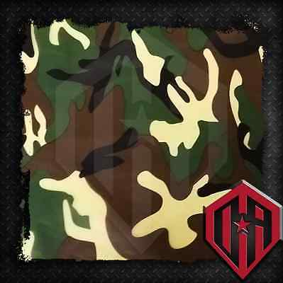 Hydrographic Water Transfer Hydrodipping Film Hydro Dip Camouflage Green Camo