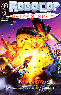 ROBOCOP Prime Suspect #3 (of 4) - Back Issue