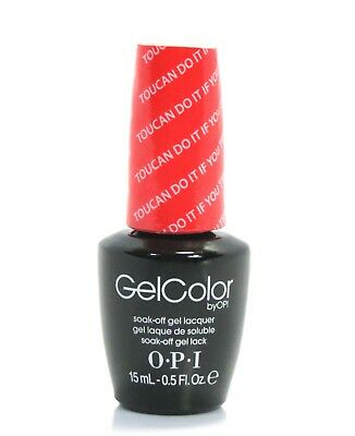 Opi GelColor Gel Nail Polish Toucan Do It If You Try GC-A67 - 15ml - 0.5oz