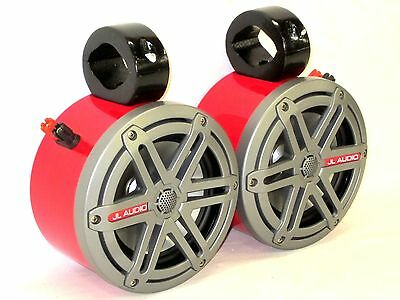 JL Audio RED Mini. Wakeboard Tower Boat Roll Cage Speakers. UTV CAN AM RZR Jeep