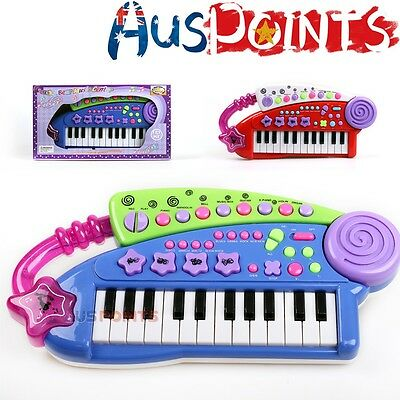 Kids Toys Piano Keyboard Educational Toys Music Battery Operated AUS STOCK