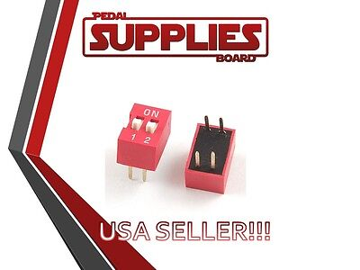 Qty 2 2 Position Dip Switch USA Seller