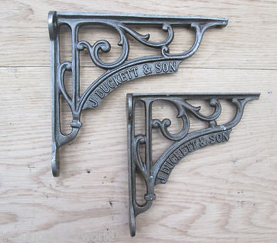 Cast Iron Decorative fancy Shelf Support Book Sink Toilet Cistern Bracket