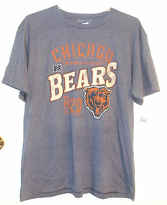 NFL Team Apparel Mens Chicago Bears Monsters of the Midway T-Shirt Sz Lg XL 17ac026de