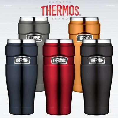 Thermos Stainless King Travel Tumbler Leak Proof Vacuum Insulated 0.47L