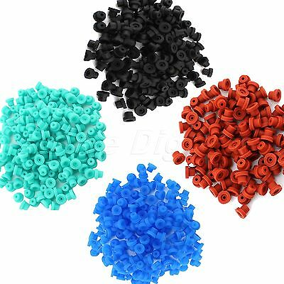 100pcs Silicone Half Grommets Nipples for Tattoo Machine Gun Accessories Supply