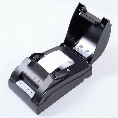 USB Mini 58mm POS 384 Line High Speed Dot Receipt Thermal Printer w/Accessories