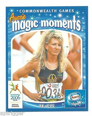 2006 Commonwealth Games Nestle Peters Magic Moments (14) Jane FLEMING