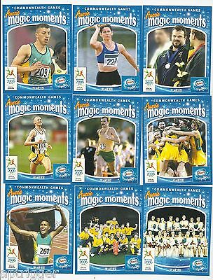 2006 Commonwealth Games Nestle Peters Magic Moments Set of 15