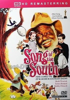 Song of the South (1946) - Ruth Warrick, James Baskett, Bobby Driscoll- NEW DVD