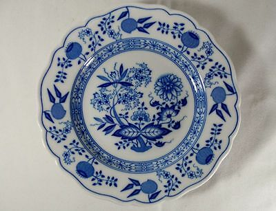 Set of 8 Hutschenreuther Blue Onion Salad/Dessert Plate(s)