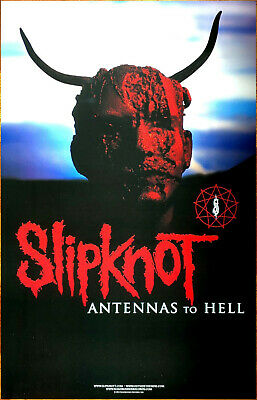 SLIPKNOT Antennas To Hell | Iowa 10th Anniversary Edition 2 Ltd Ed Posters Lot!