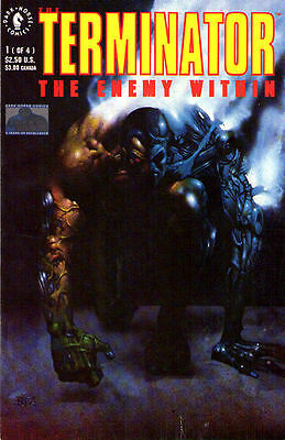TERMINATOR The Enemy WIthin #1-4 - Back Issue