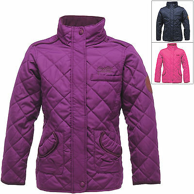 Regatta Girls Quilted Giddyup Jacket With Thermo-Guard Insulation Winter Outdoor