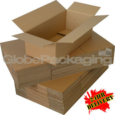 "25 x HIGH GRADE 12x9x5 MAILING POSTAGE CARDBOARD BOXES 12""x9""x5"" 24HRS *OFFER*"