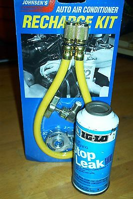 IG-LO R-12  FREON REFRIGERANT STOP LEAK WITH HOSE ADAPTER