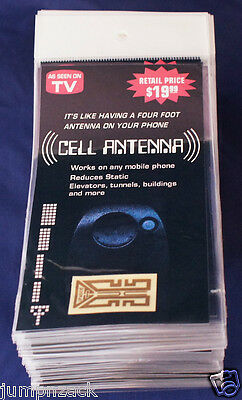 As Seen on TV Internal Cell Phone Antenna Signal Reception Booster 50 for $20!