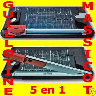 Guillotine + Massicot - 5 en 1 - Olympia Vario 5000 -  NEUF