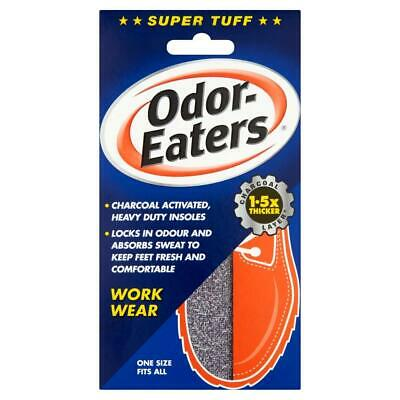 Odour Eaters Super Tuff Insoles | Charcoal Layer | Odour Control & Destroying