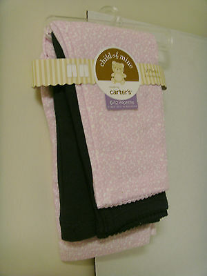 Child of Mine by Carter's Set of 2 Infant Girls 6-12 months Pants