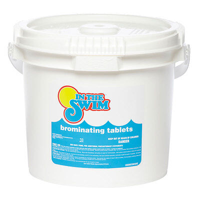 """In The Swim 1"""" Bromine Tablets For Swimming Pool & Spa 3.5 Lbs."""