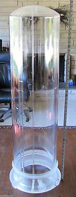 Large Double Walled Fused Quartz Tosch Furnace Bell Jar TC-163S-293-001