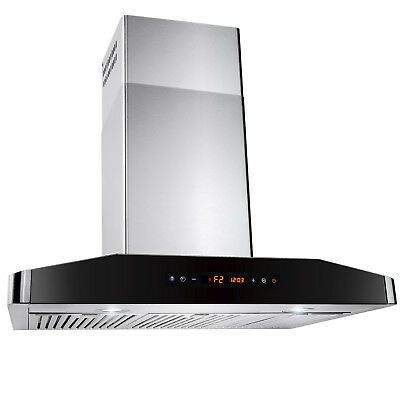 """Europe 30"""" Kitchen Wall Mount Stainless Steel Range Hood Stove Cooking Fan Vents"""